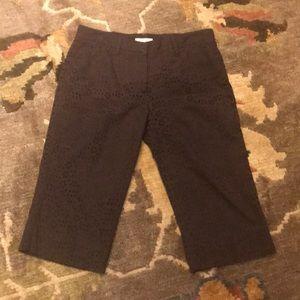 Like new Burberry brown Bermuda shorts